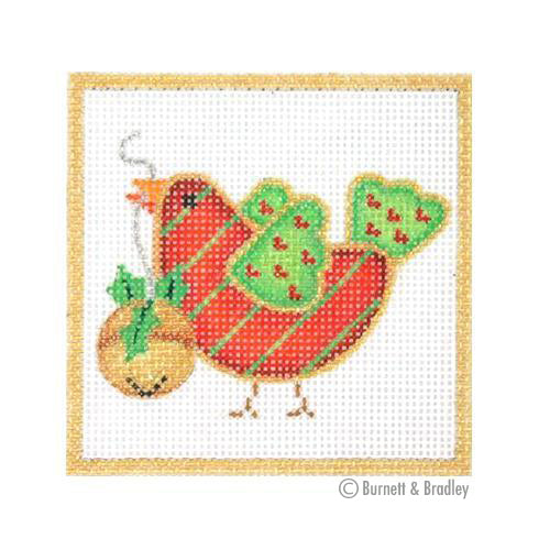 BB 3194 - Square Ornament - Sweetie Tweetie