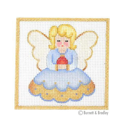 BB 3198 - Square Ornament - Angel