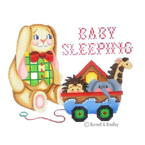BB 6012 - Baby Sleeping Sign - Rabbit