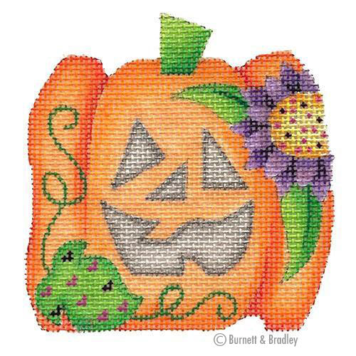 BB 6025 - Mini Pumpkin - Purple Flower
