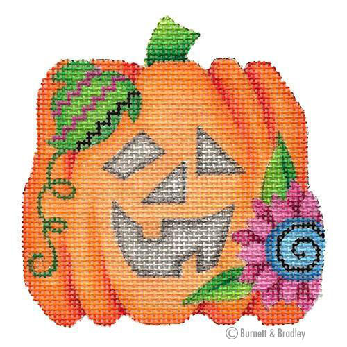 BB 6026 - Mini Pumpkin - Blue Flower