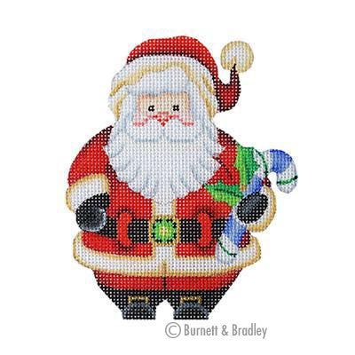 BB 6040 - Mini Santa with Candy Cane