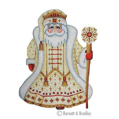 BB 6052 - Santa Claus - Gold Robe with Crown