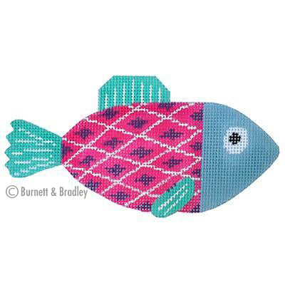 BB 6070 - Casting Crew - Pink & Purple Fish