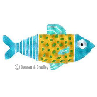 BB 6072 - Casting Crew - Yellow & Aqua Fish