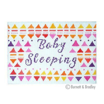 BB 6076 - Baby Sleeping - Girl