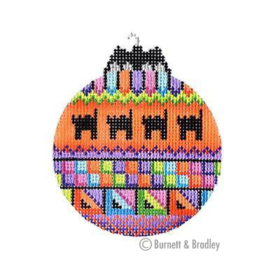 BB 6100 - Halloween Bat Bauble - Black Cats