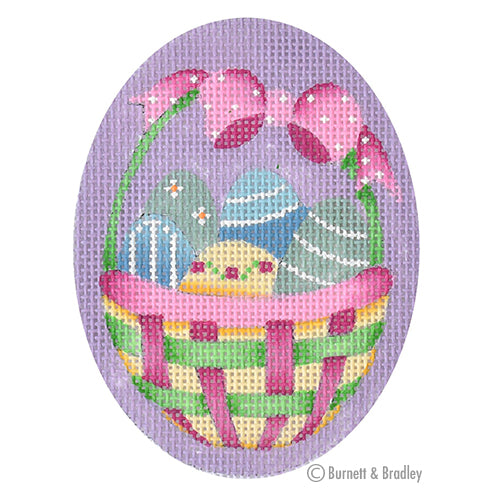 BB 6166 Hoppy Easter - Basket of Eggs
