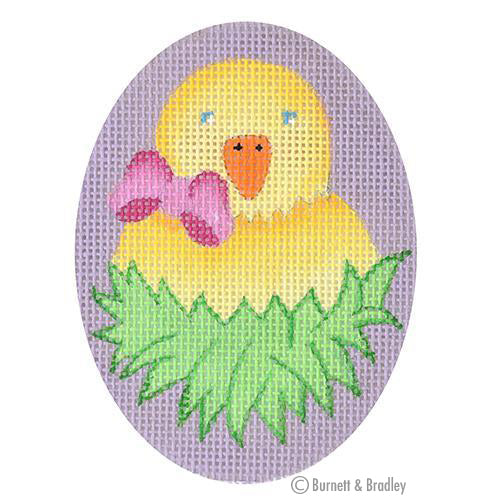 BB 6167 Hoppy Easter - Chick in Nest