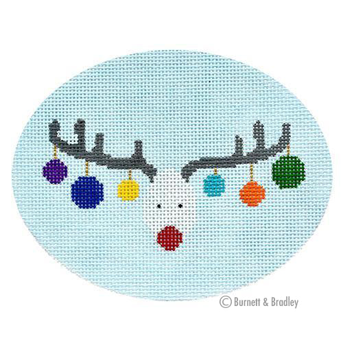 BB 6171 - Reindeer Face Horizontal