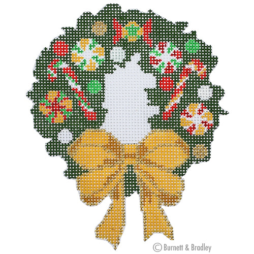BB 6179 - Candy Wreath