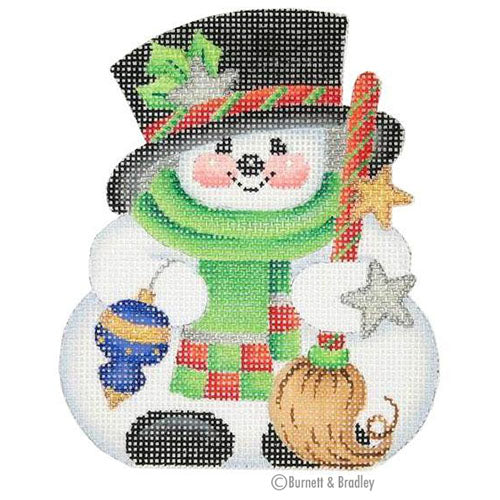 BB 0027 - Chubby Top Hat Snowman