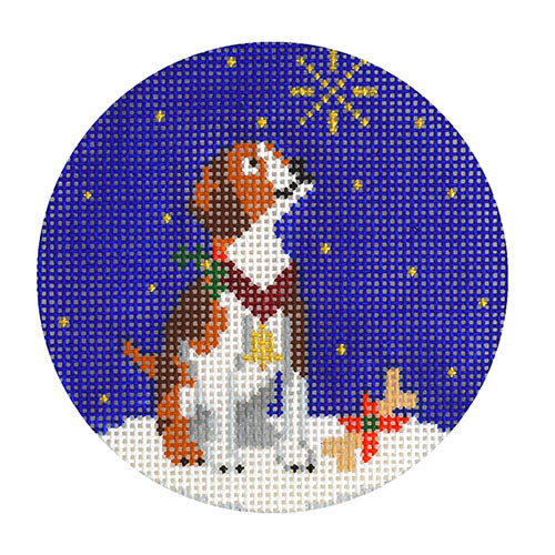 KB 1538 - Midnight Beagle Round