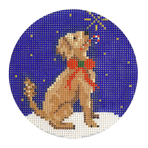 KB 1544 - Midnight Goldendoodle Round