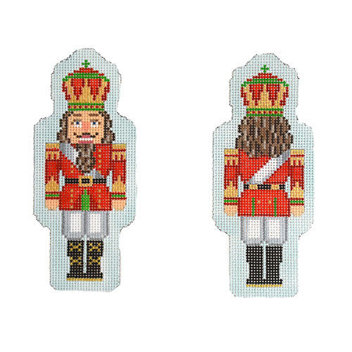 KB 1547 - Double-Sided Nutcracker Ornament - Red