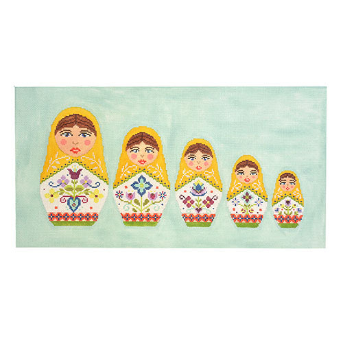 KB 1576 - Russian Doll Pillow