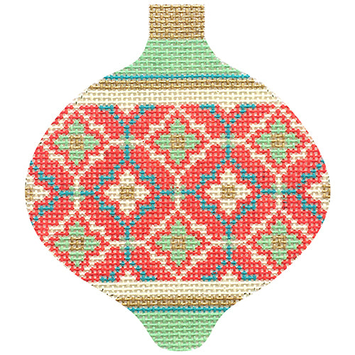 KB 1591 - Florentine Baubles - Red Moroccan Tile