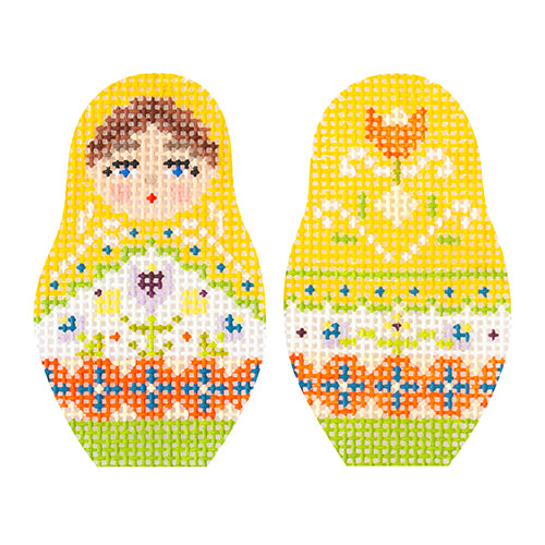 KB 1596 - Folk Russian Dolls - Extra Small