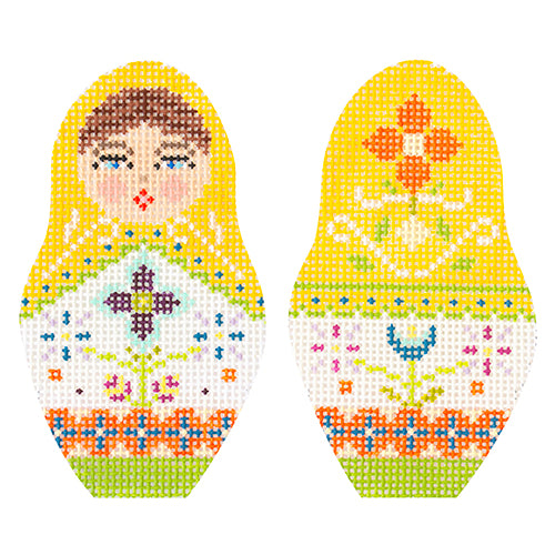 KB 1597 - Folk Russian Dolls - Small