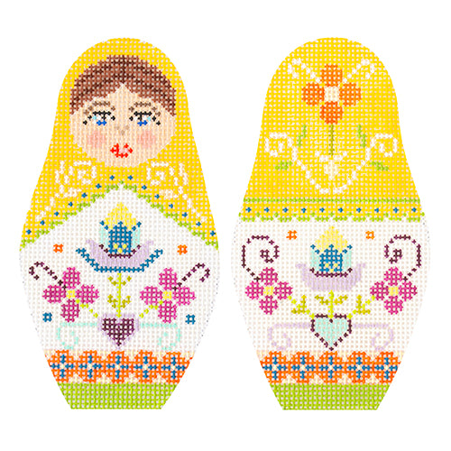 KB 1598 - Folk Russian Dolls - Medium
