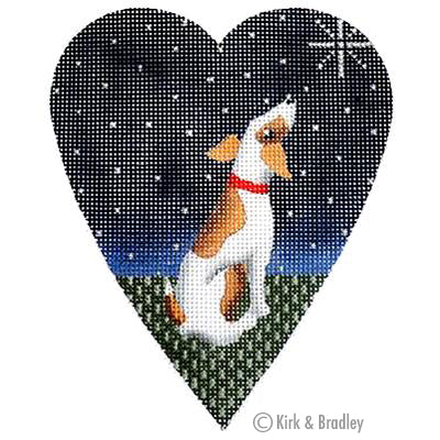 KB 060 - Midnight Jack Russell Heart