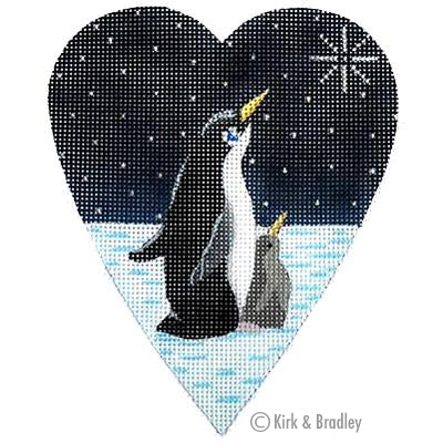 KB 065 - Midnight Penguin Heart