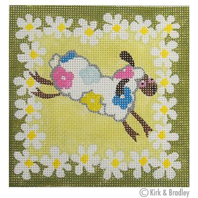 KB 105 - Single Sheep Floral