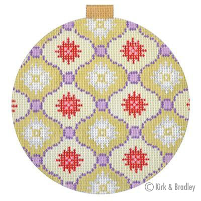 KB 1154 - Florentine Bauble - Gold/Purple