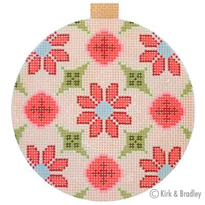 KB 1156 - Florentine Bauble - Peach