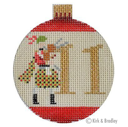 KB 1188 - 12 Days Bauble - 11 Pipers