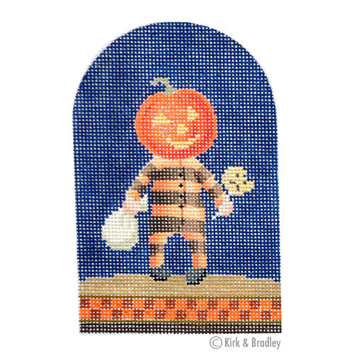 KB 1243 - Trick-or-Treater - Pumpkin