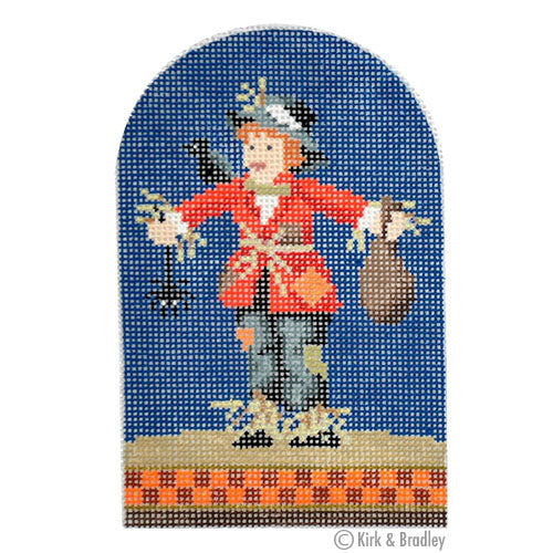 KB 1244 - Trick-or-Treater - Scarecrow