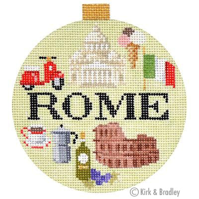 KB 1257 - Travel Round - Rome