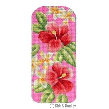 KB 126 - Eyeglasses Case Tropical Pink