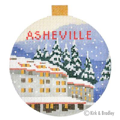 KB 1265 - Asheville Ornament