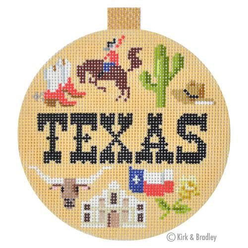 KB 1267 - Travel Round - Texas