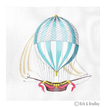 KB 1270 - Hot Air Balloon - Large-Blue