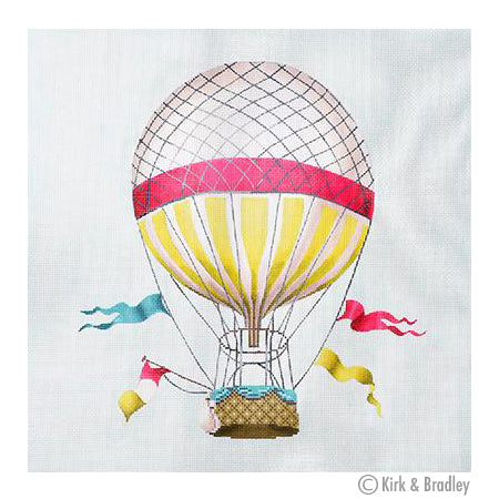 KB 1271 - Hot Air Balloon - Large-Pink
