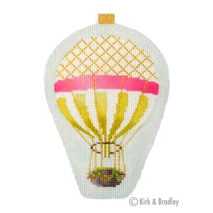 KB 1274 - Mini Balloon - Gold Stripe