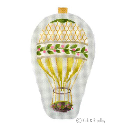 KB 1275 - Mini Balloon - Gold Holly