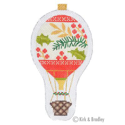 KB 1283 - Holiday Balloon - Red Berries