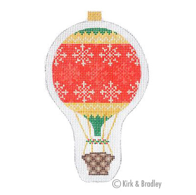 KB 1285 - Holiday Balloon - Snowflake