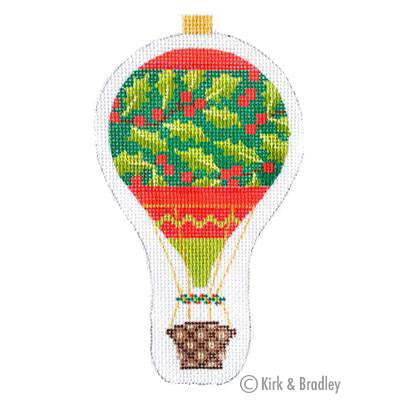 KB 1286 - Holiday Balloon - Holly