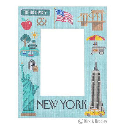 KB 1307 - New York Picture Frame
