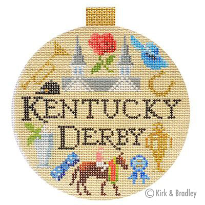 KB 1332 - Sporting Round - Kentucky Derby