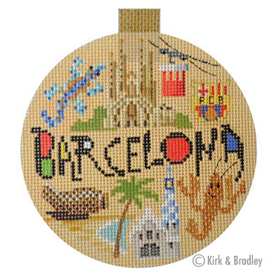 KB 1337 - Travel Round - Barcelona
