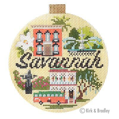 KB 1357 - Travel Round - Savannah