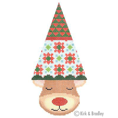 KB 1384 - Reindeer Cone - Dash (Diamonds)