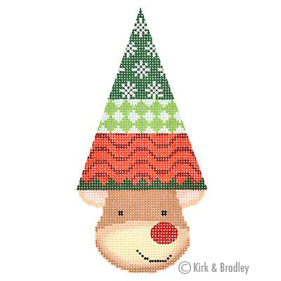 KB 1387 - Reindeer Cone - Merry (Waves)
