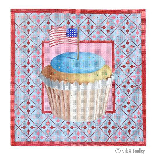 KB 14013 - Stars & Stripes Cupcake